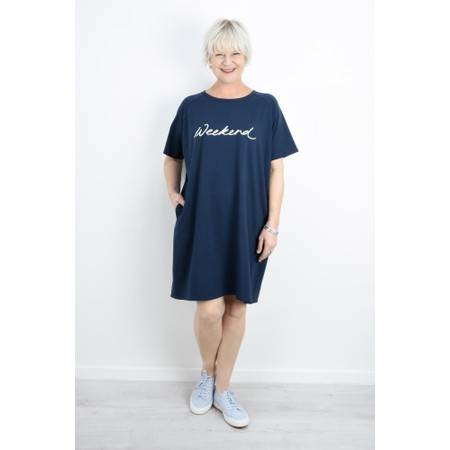 Chalk Linda Weekend Dress - Blue