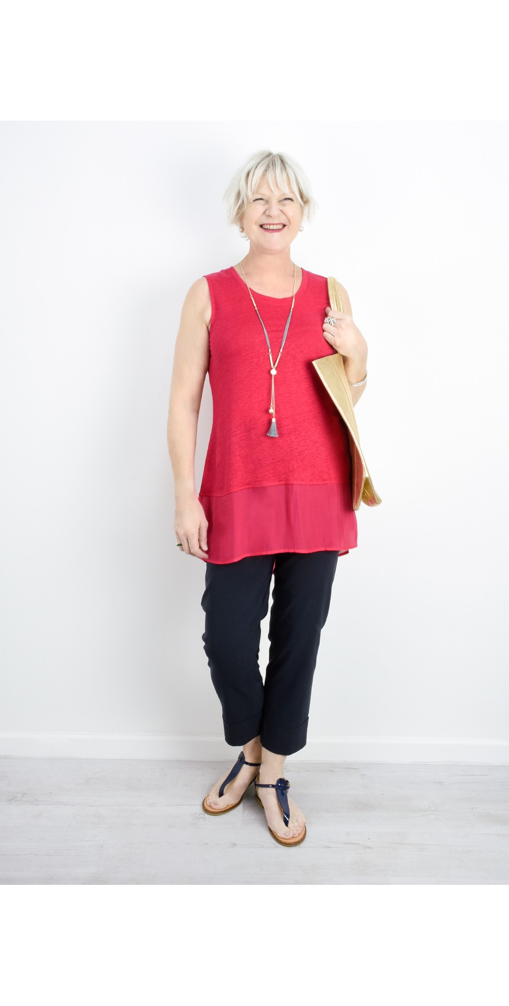 Layered Sleeveless Top main image