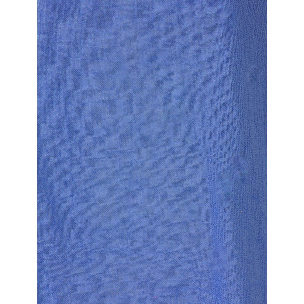 TOC Billie Linen Mix Easy Fit Top Cobalt