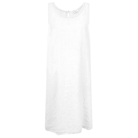 Luella Charley Linen Dress - White