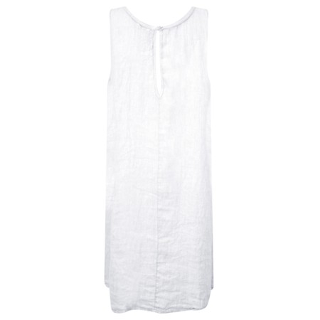 Luella Charley Linen Dress - White