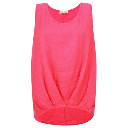 Fenella  Camille Easyfit Shell Top - Red