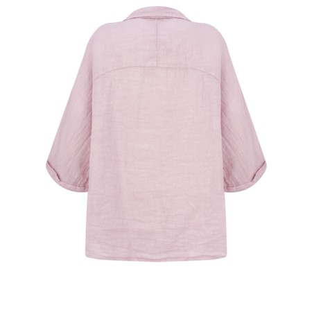 Fenella  Iris EasyFit Shirt with Pocket - Pink