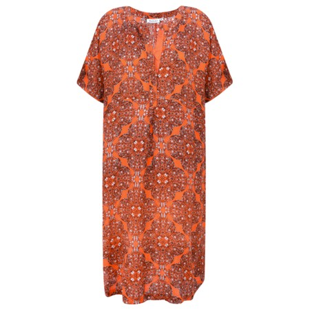Masai Clothing Gazini Moroccan Tunic - Orange
