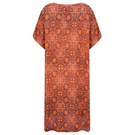 Masai Clothing Gazini Moroccan Tunic - Orange