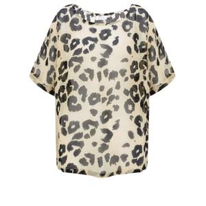 Masai Clothing Dasha Leopard Print Top