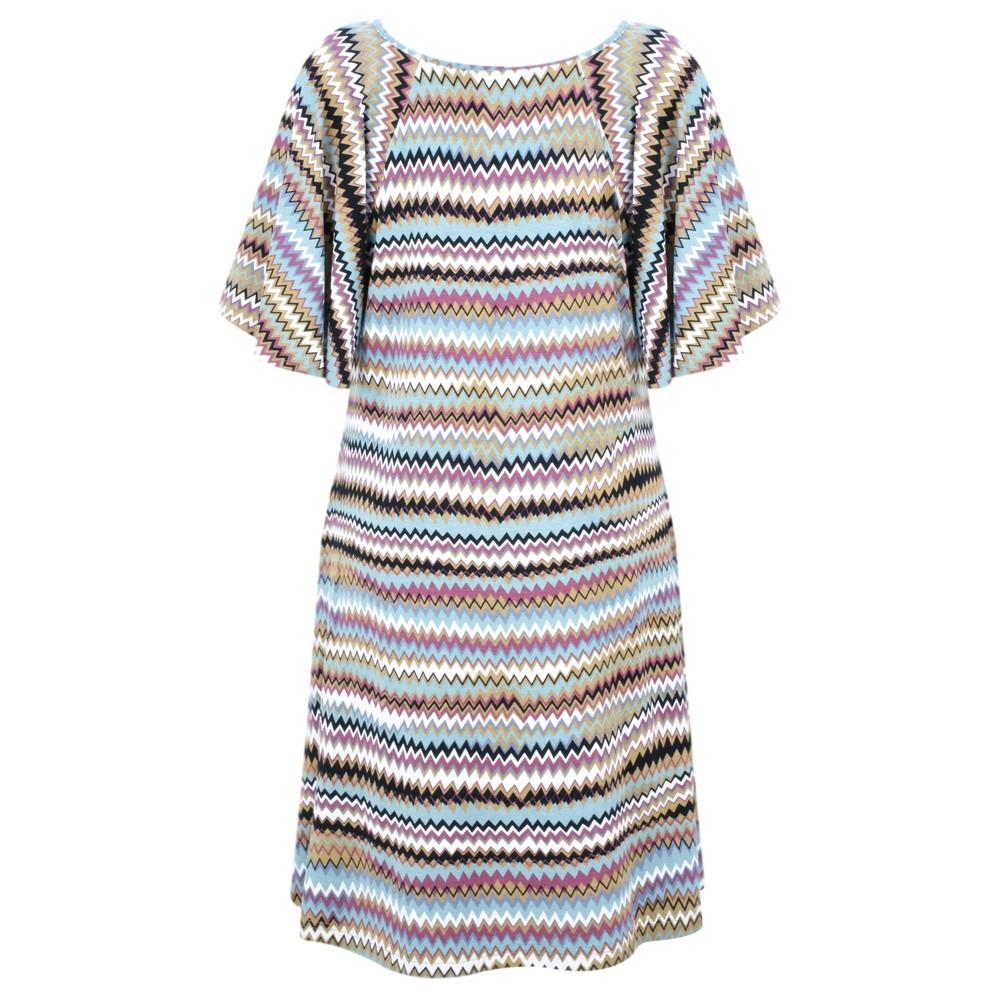 Masai Clothing Gigi Zig-Zag Tunic Mineral Org