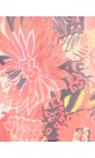 Masai Clothing Pumpkin Org Gabona Fiery Floral Tunic