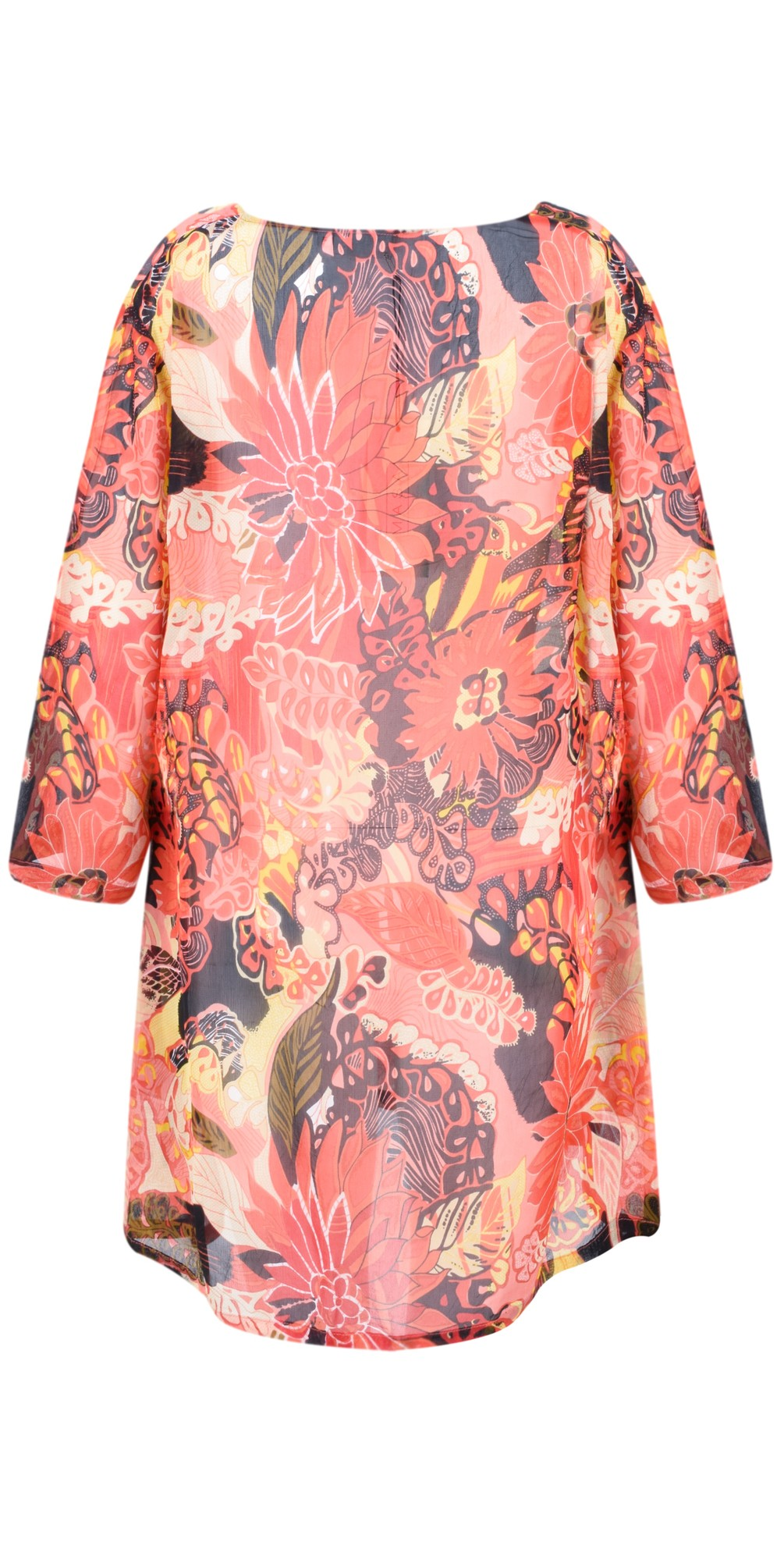 Gabona Fiery Floral Tunic main image