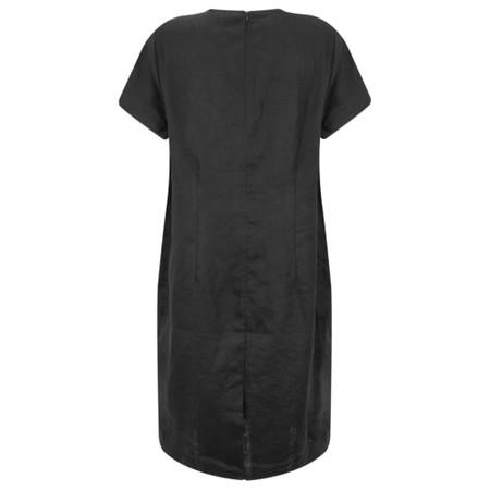 Masai Clothing Nabla Linen Dress  - Black