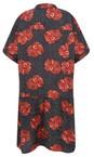 Masai Clothing Pumpkin Org Gizina Floral Tunic