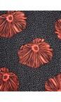 Masai Clothing Pumpkin Org Nema Floral Dress