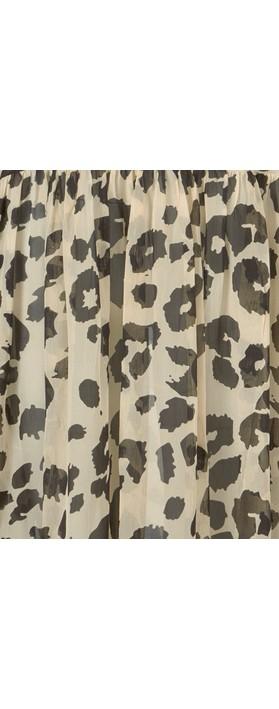 Masai Clothing Neoma Leopard Print Dress Bast Org