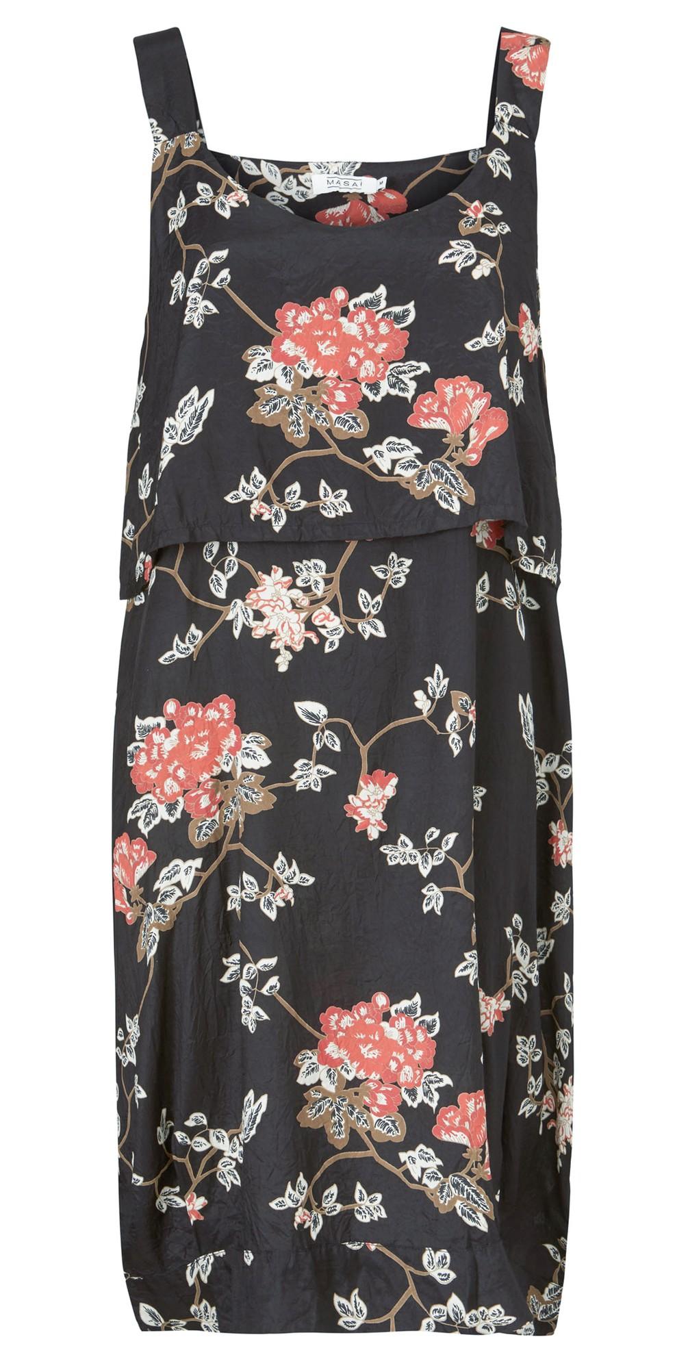 Olwina Oriental Floral Dress main image