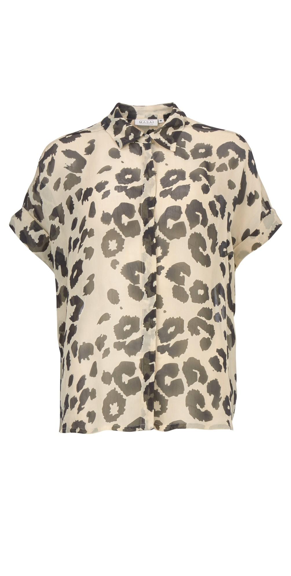 Leva Leopard Print Blouse main image