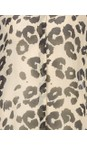 Masai Clothing Bast Org Leva Leopard Print Blouse