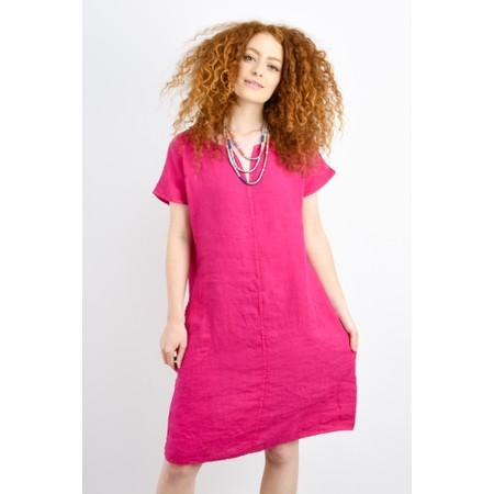 Luella Alicia Linen Dress  - Pink