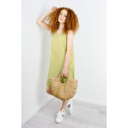 Luella Charley Linen Dress - Green