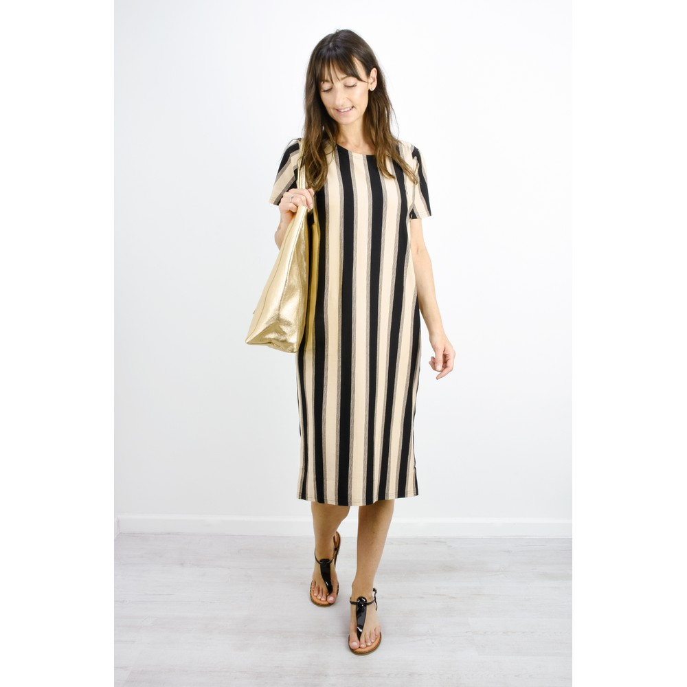 Masai Clothing Nessi Stripe Dress Bast Org