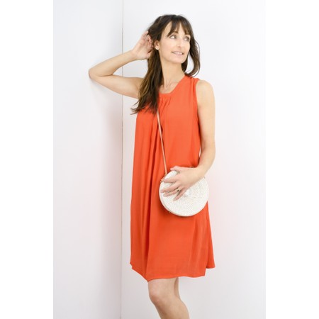 Masai Clothing Harper Tunic Dress - Orange