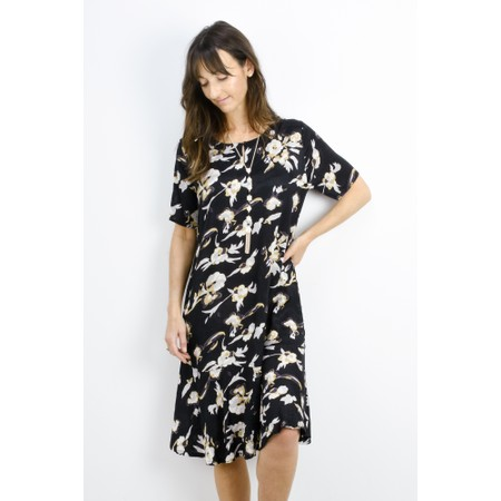 Masai Clothing Nebit Floral Dress - Green