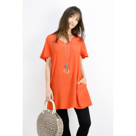 Masai Clothing Gitussa Tunic - Orange