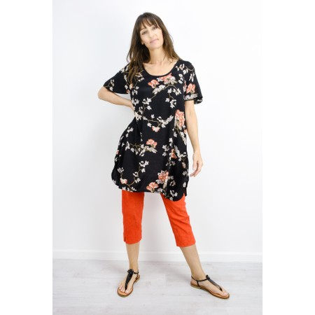 Masai Clothing Gesima Floral Tunic - Orange