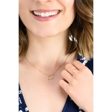 Ania Haie Opal Colour Raindrop Adjustable Ring - Gold