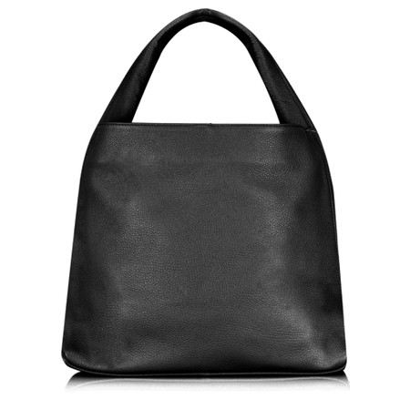 Gemini Label Bags Ravenna Leather Bag - Black