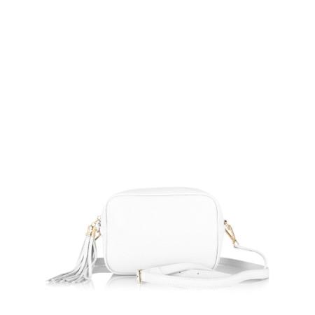 Gemini Label Bags Connie Cross Body Bag - White