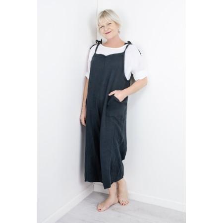TOC  Billie Linen Easy Fit Top - White