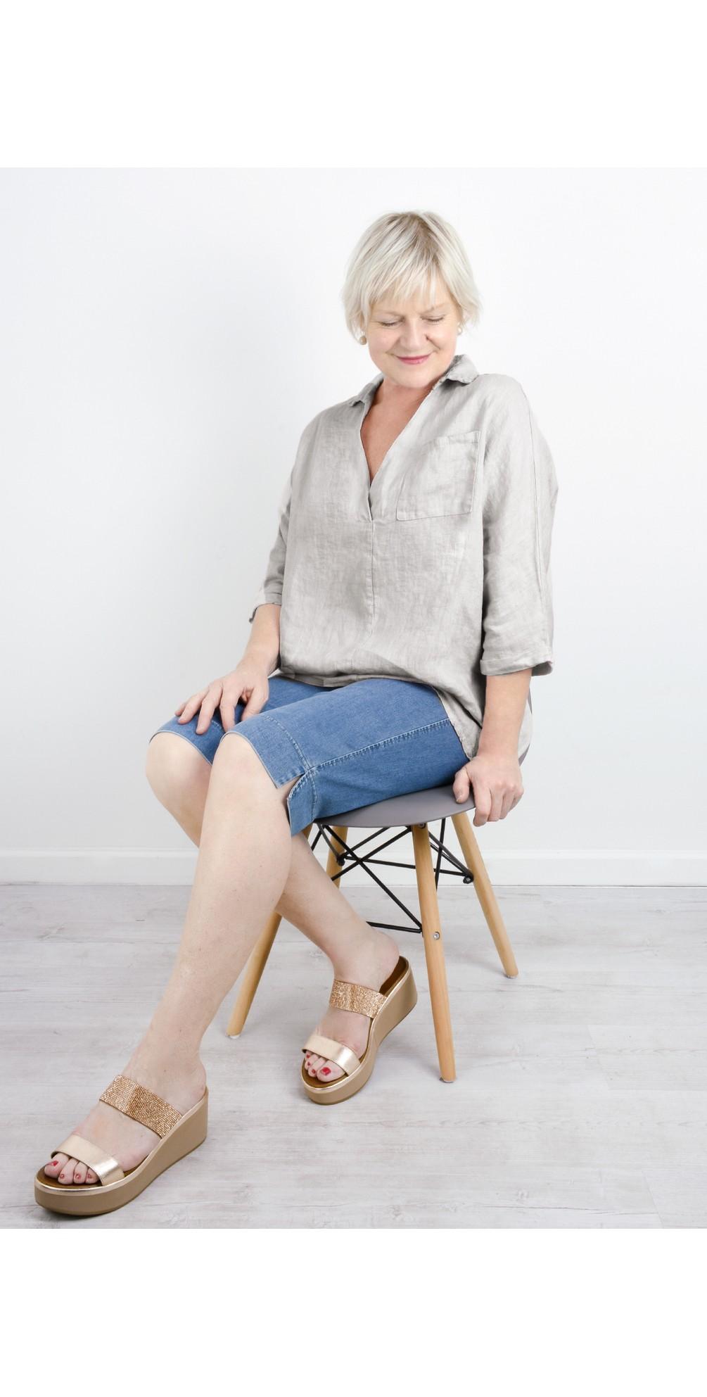 Emma Wedge Sandal main image