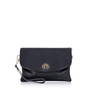 Gemini Label Bags Rieti Leather Clutch