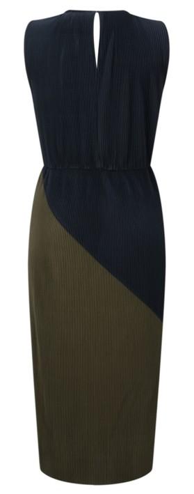 Great Plains Marnie Jersey Sleeveless Dress dark olive/black