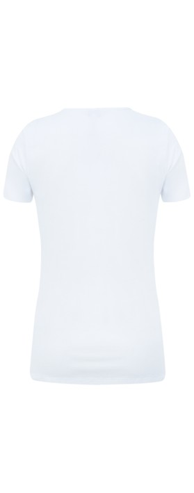 Great Plains Essential Classic Tee Optic white
