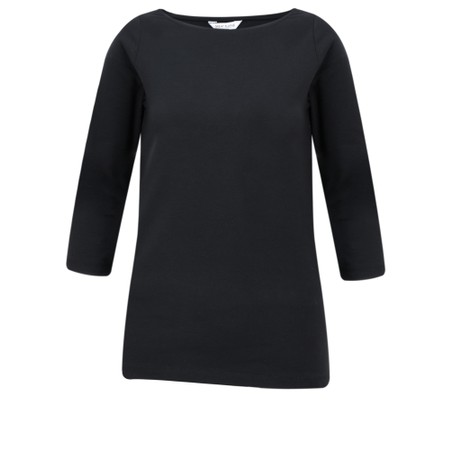 Great Plains Essential Jersey 3/4 Length Tee - Black