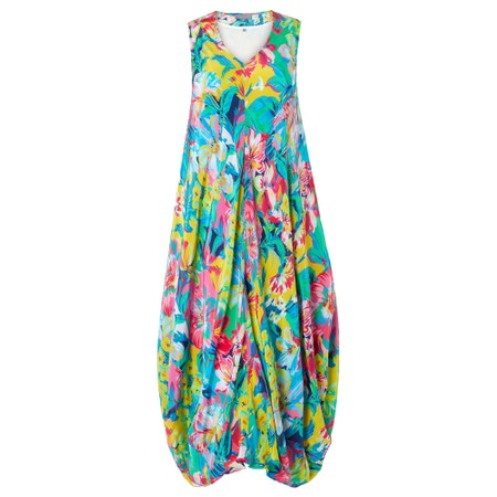 Sahara Summer Floral Print Dress - Multicoloured