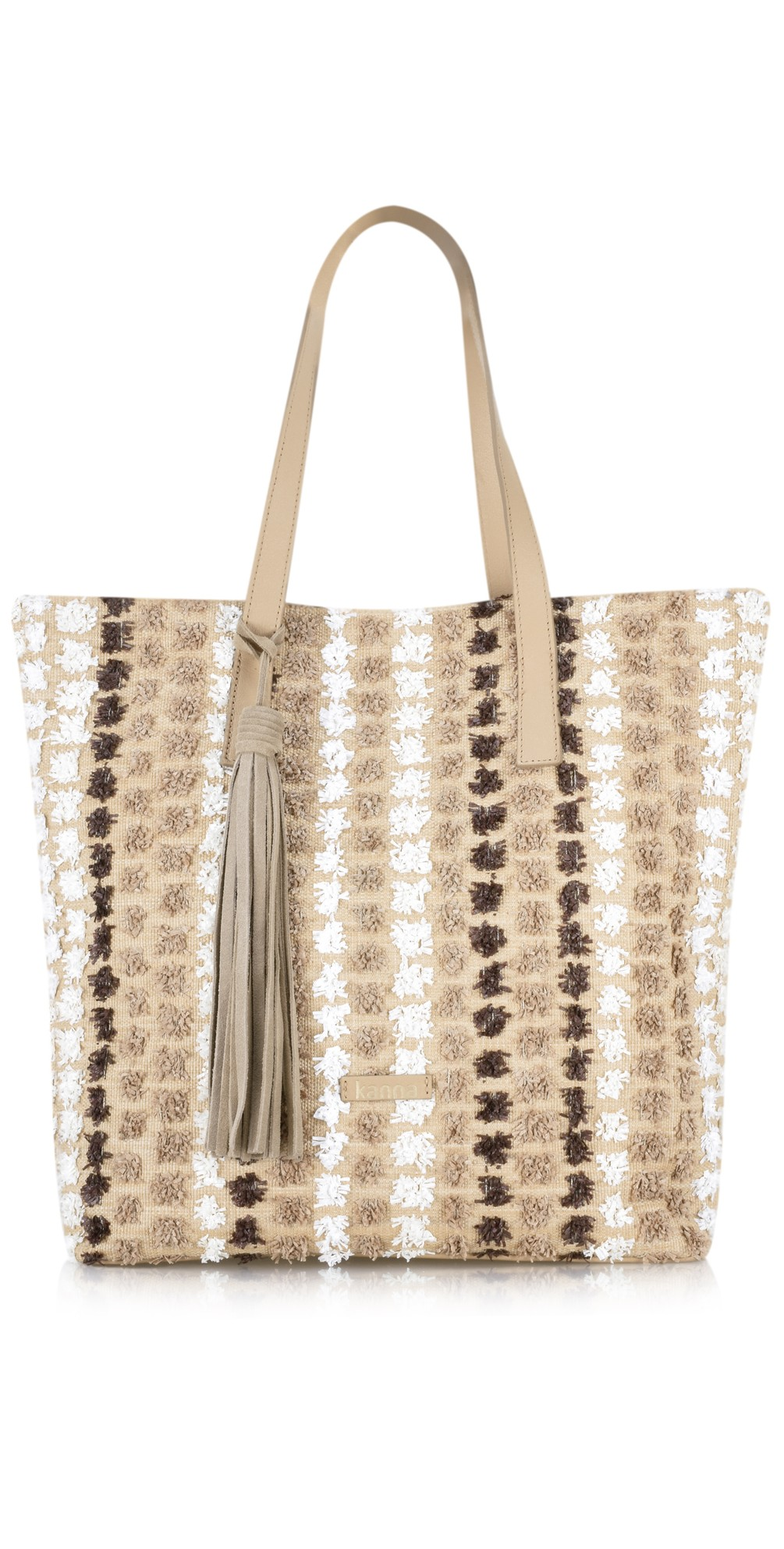 Cabel Stripe Beach Bag main image