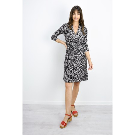 French Connection Angelina Meadow Dress - Beige