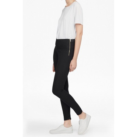 French Connection Street Twill Skinny Trouser - Black