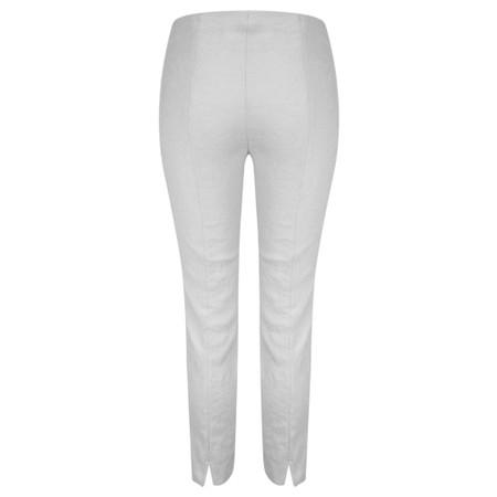 Robell  Rose 09 Jacquard Slimfit 7/8 Trouser - Blue