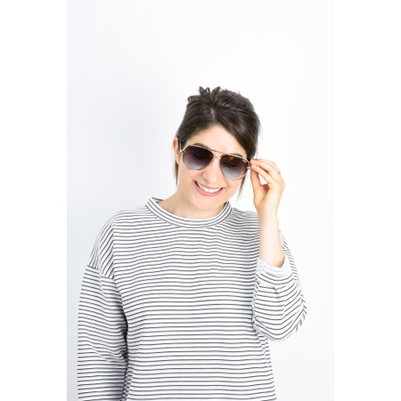 Quay Australia High Key Mini Sunglasses - Gold