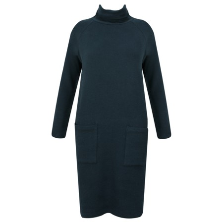 Great Plains Kitten Soft Long Sleeve Dress - Blue