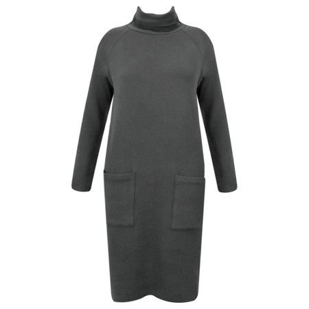 Great Plains Kitten Soft Long Sleeve Dress - Black