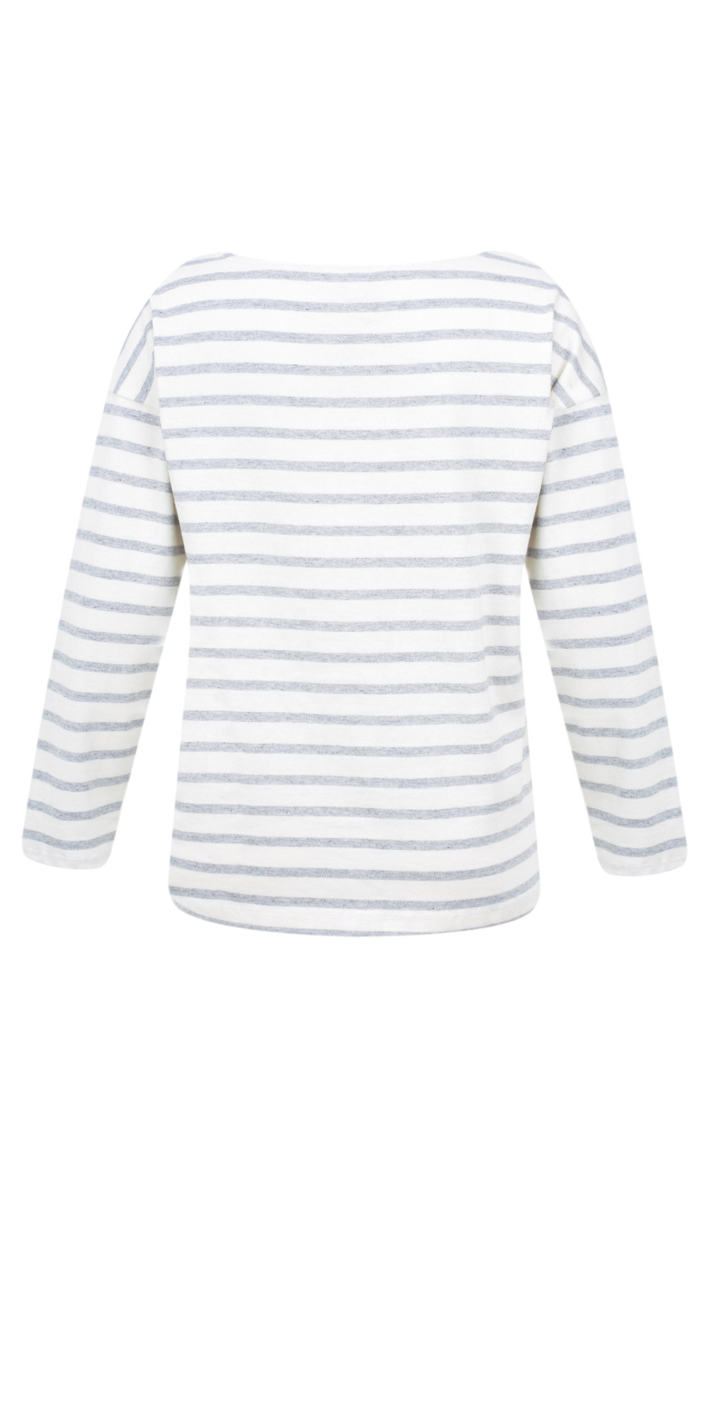 Good Vibes Stripe Long Sleeve Top main image