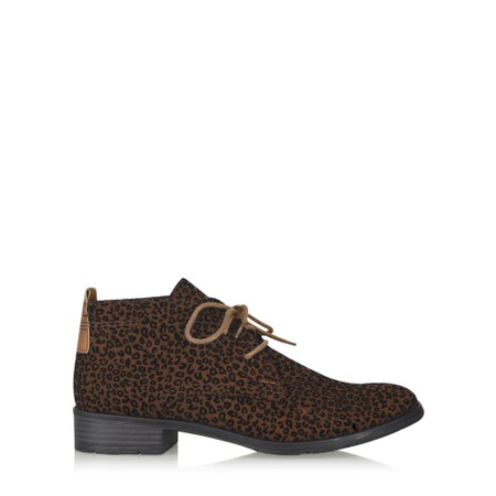 Marco Tozzi Rapalli Animali Desert Boot - Brown