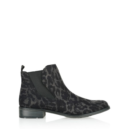 Marco Tozzi Rapalli Abstract Leopard Boot - Grey