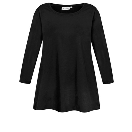 Masai Clothing Cilla Basic Top - Black