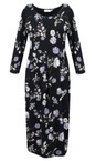 Masai Clothing Wisteria Org Nicky Floral Jersey Dress
