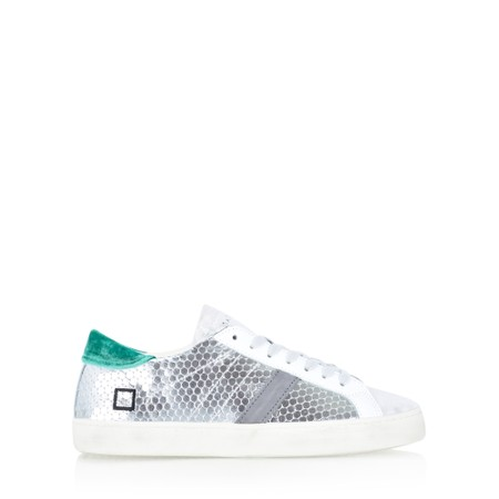 D.A.T.E Pong Matallic Trainer Shoe  - Metallic
